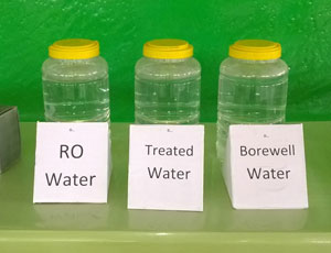 Quality water test